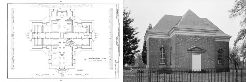 Christ Church, Virginia, via Library of Congress.