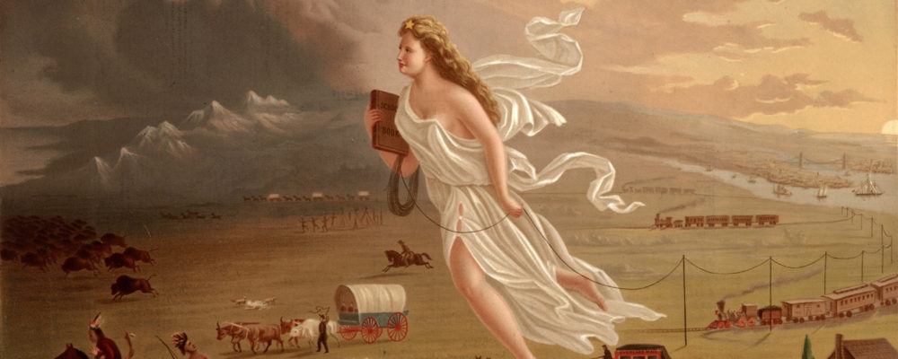 "how did manifest destiny manifest itself Manifest destiny - the drive to influence a  ""although the term manifest destiny did not achieve widespread  and more to the nature of the ideology itself."