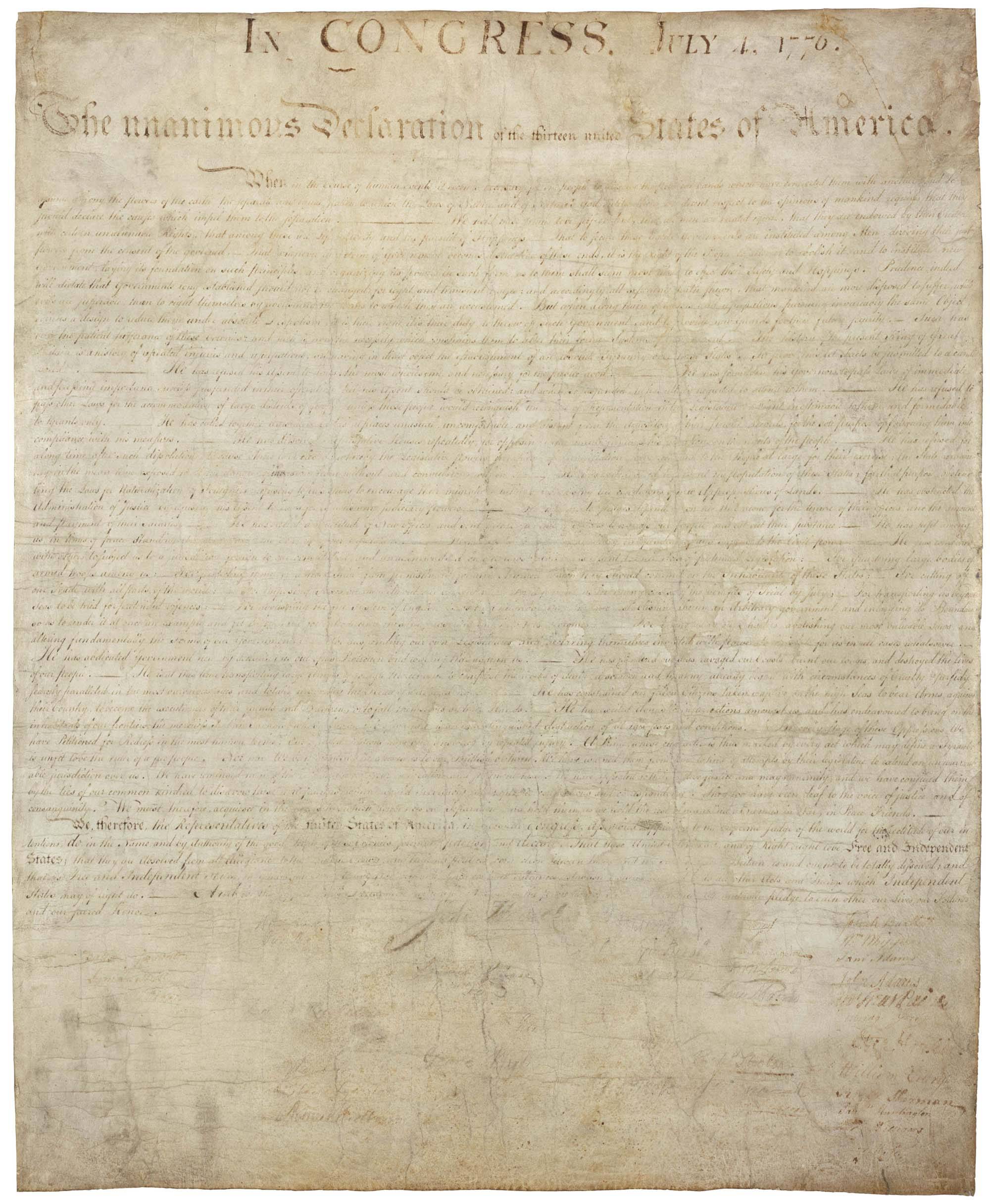 The Documents that Bind US Part    Declaration of Independence  K Creately