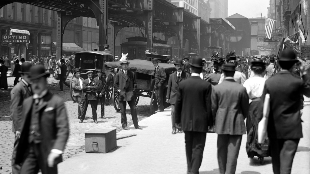 Wabash Avenue, Chicago, c1907. Library of Congress, LC-D4-70163.