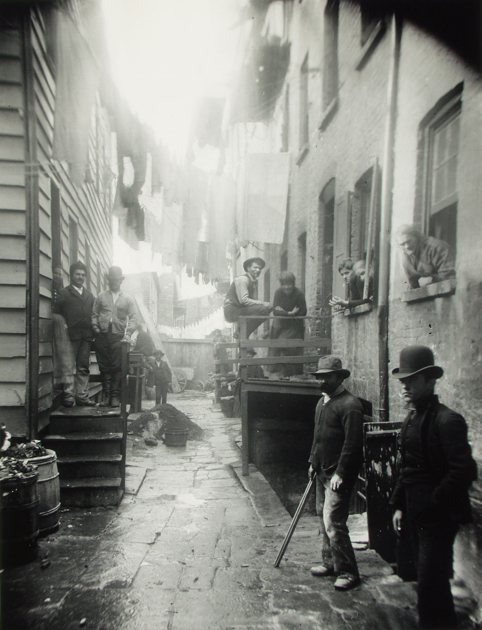 """""""Bandit`s Roost"""" 59 1/2 Mullbery Street. Via Preus Museum"""