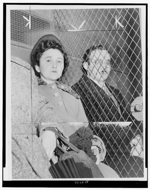 Photograph of Julius and Ethel Rosenberg.