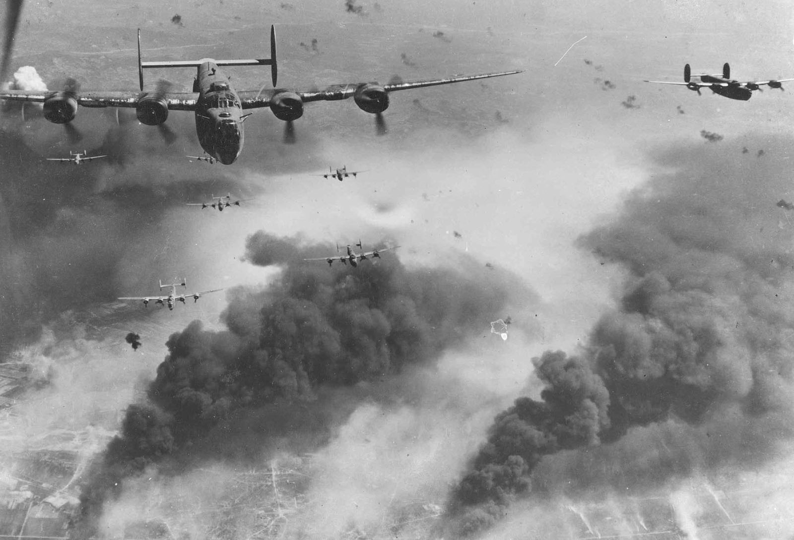 In 1944, Allied Forces Began A Bombing Campaign Of Railroad And Oil Targets  In Bucharest