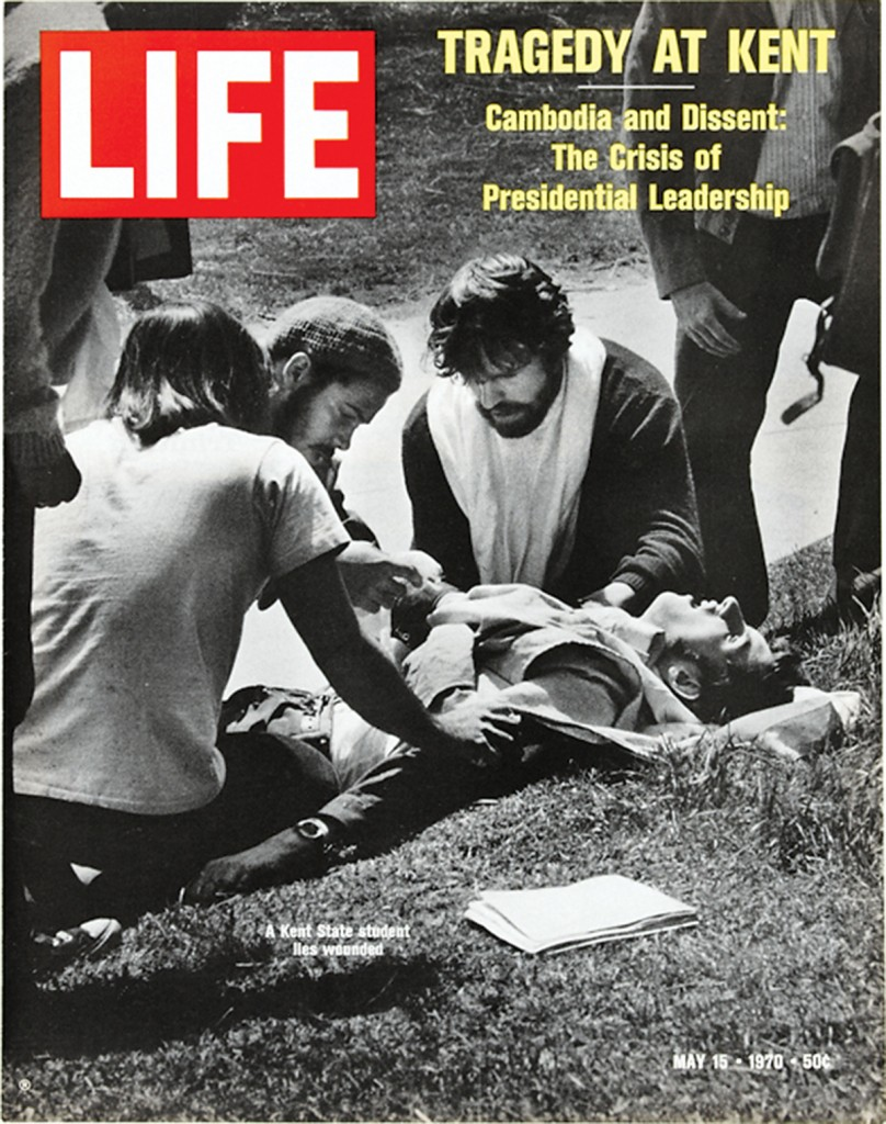 """Tragedy at Kent,"" May 15, 1970, Life Magazine, http://life.tumblr.com/post/50507601384/on-this-day-in-life-may-15-1970-tragedy-at."