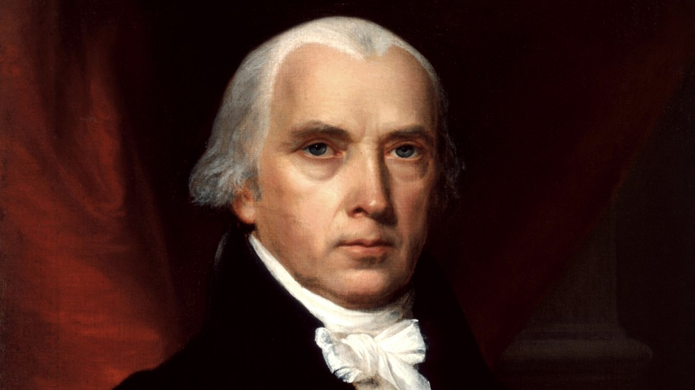 James Madison was a central figure in the reconfiguration of the national government. Madison's Virginia Plan was a guiding document in the formation of a new government under the Constitution. John Vanderlyn, Portrait of James Madison, 1816. Wikimedia, http://commons.wikimedia.org/wiki/File:James_Madison.jpg.