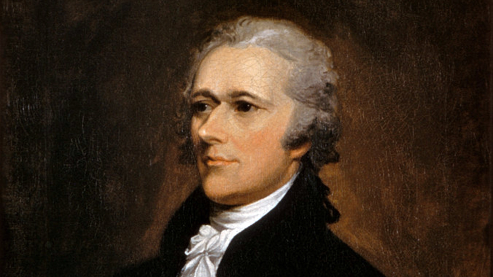 Alexander Hamilton saw America's future as a metropolitan, commercial, industrial society, in contrast to Thomas Jefferson's nation of small farmers. While both men had the ear of President Washington, Hamilton's vision proved most appealing and enduring. John Trumbull, Portrait of Alexander Hamilton, 1806. Wikimedia, http://commons.wikimedia.org/wiki/File:Alexander_Hamilton_portrait_by_John_Trumbull_1806.jpg.