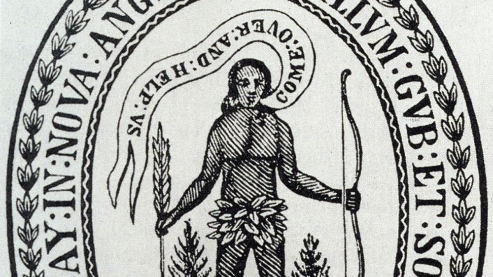 Seal of the Massachusetts Bay Colony.