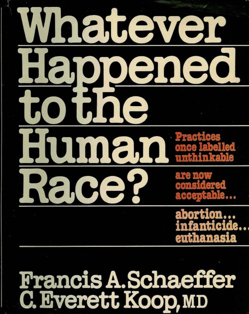 This book cover succinctly demonstrates the mindset of many conservatives in the Reagan era: what happened to the human race? http://users.aber.ac.uk/jrl/scan0001.jpg.