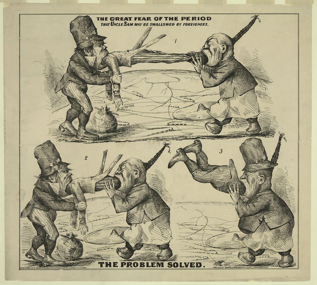 Anti-Immigrant Cartoon, 1860 | The American Yawp Reader