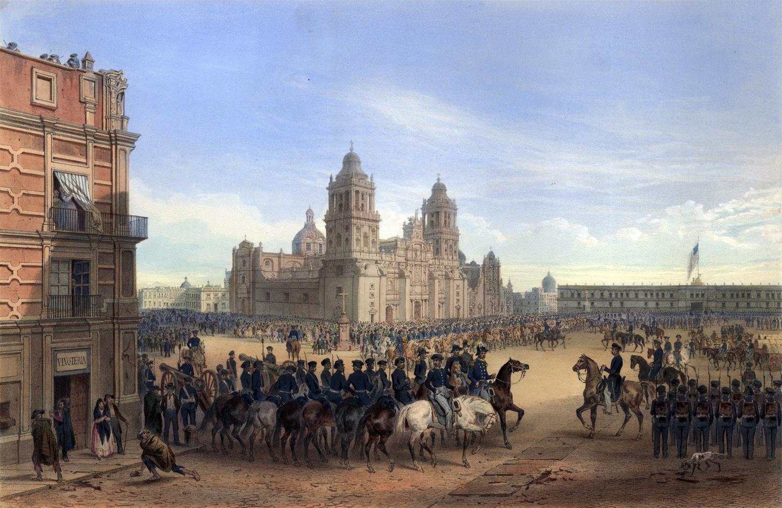 Entrance into Mexico City