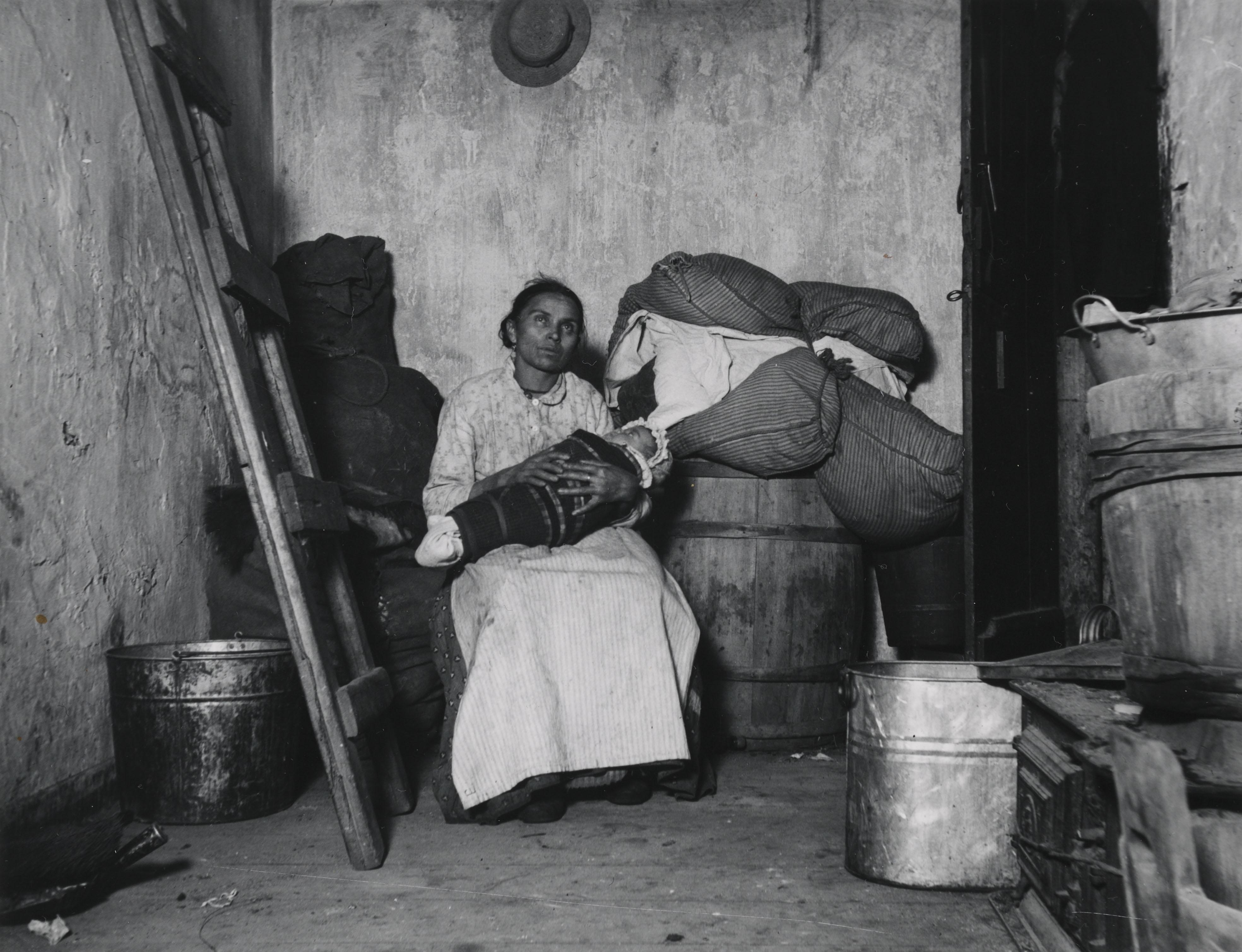 """Home of an Italian Ragpicker."" Via Preus Museum"