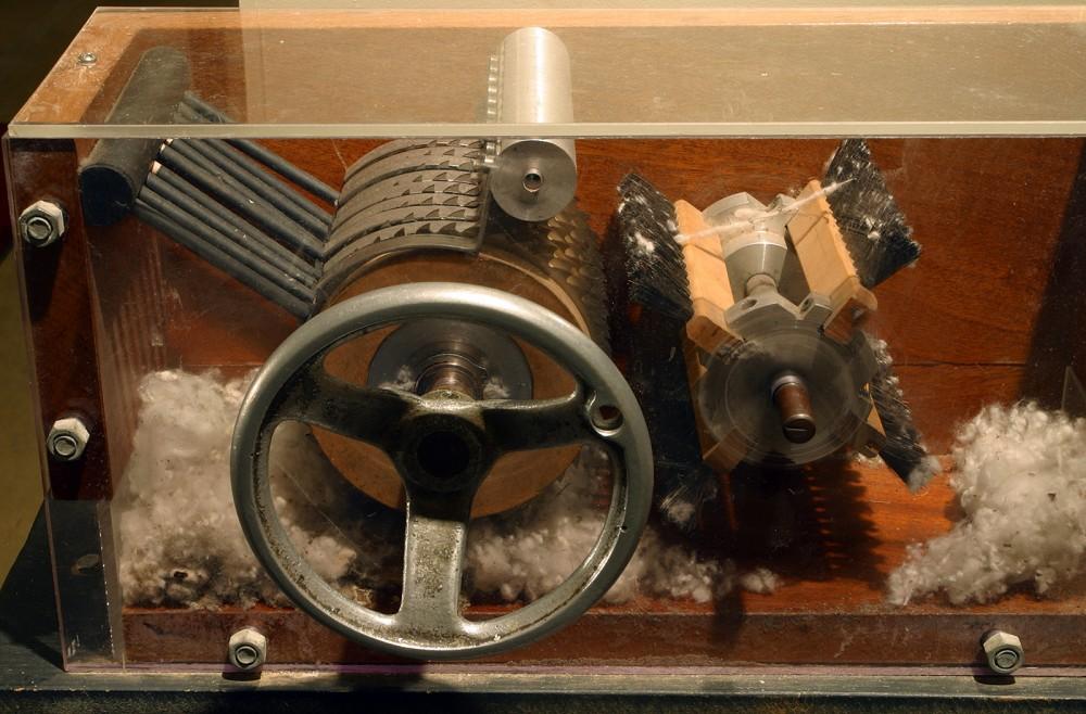Pair with Eli Whitney's Patent