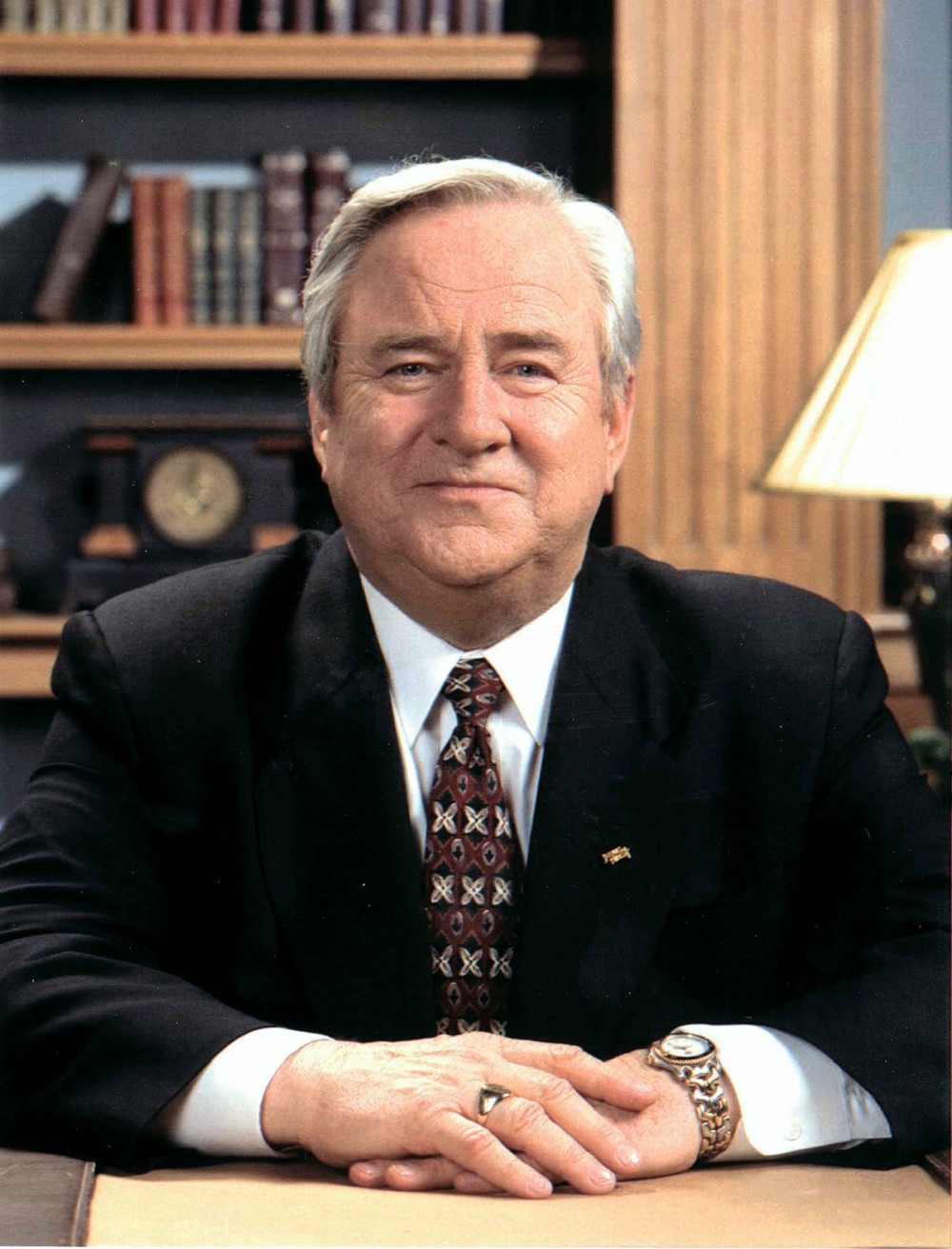 Jerry Falwell, the wildly popular TV evangelist, founded the Moral Majority political organization in the late 1970s. Decrying the demise of the nation's morality, the organization gained a massive following, helping to cement the status of the New Christian Right in American politics. Photograph, date unknown. Wikimedia, http://commons.wikimedia.org/wiki/File:Jerry_Falwell_portrait.jpg.