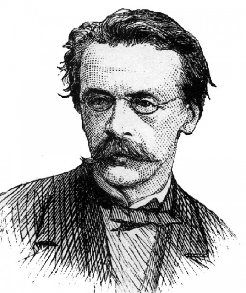 "John O'Sullivan, shown here in a 1874 Harper's Weekly sketch, coined the phrase ""manifest destiny"" in an 1845 newspaper article. Interestingly, he was not advocating using force to expand westward, arguing vehemently in those and later years against war in America and abroad. Wikimedia, http://commons.wikimedia.org/wiki/File:John_O%27Sullivan.jpg."
