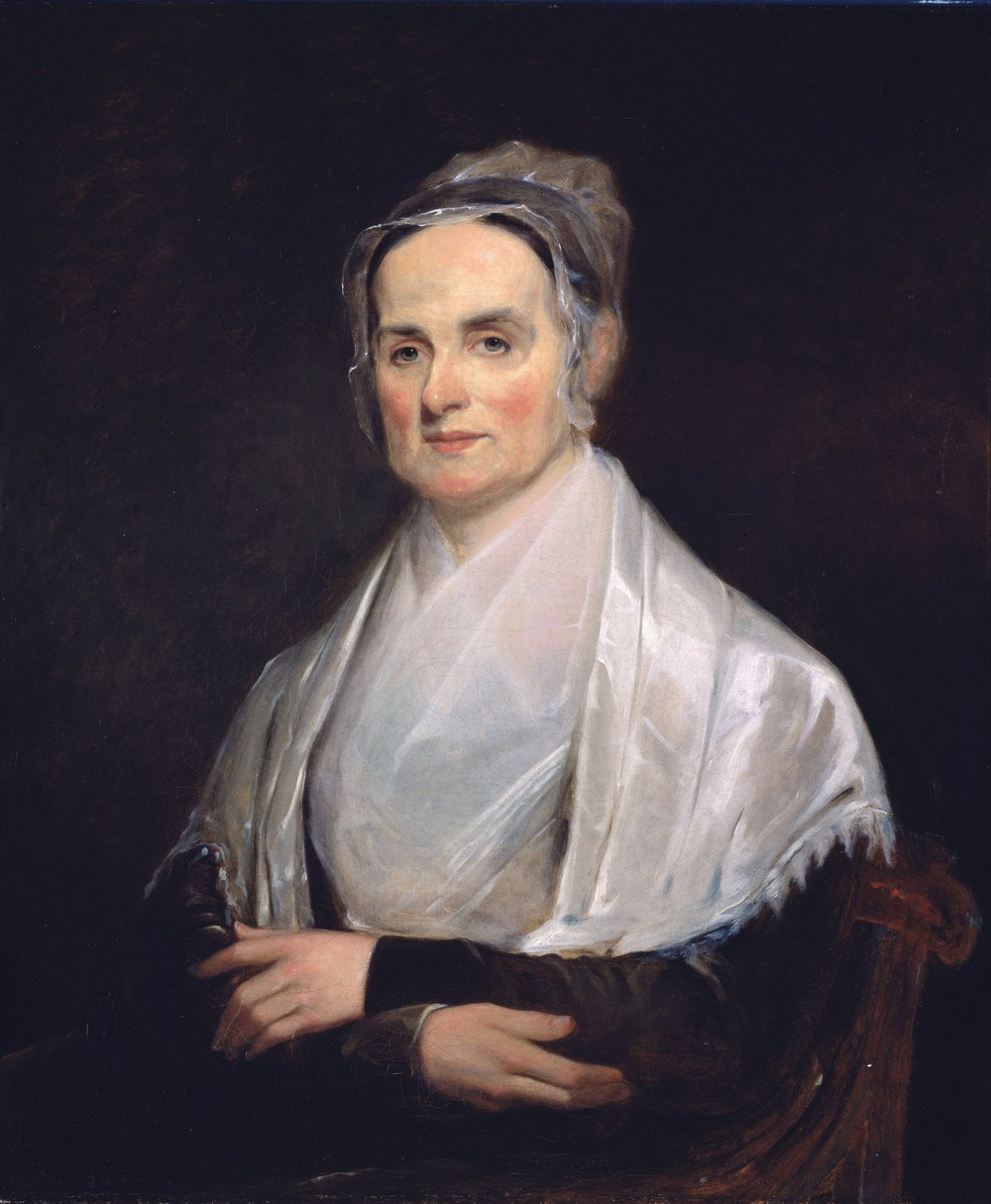 Lucretia Mott campaigned for women's rights, abolition, and equality in the United States. Joseph Kyle (artist), Lucretia Mott, 1842. Wikimedia, http://commons.wikimedia.org/wiki/File:Mott_Lucretia_Painting_Kyle_1841.jpg.